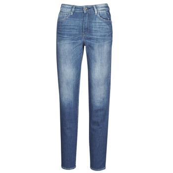 textil Dame Lige jeans G-Star Raw 3301 HIGH STRAIGHT 90'S ANKLE WMN Bleget / Kobolt