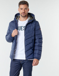textil Herre Dynejakker Guess SUPER LIGHT PUFFA JKT Marineblå