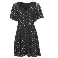 textil Dame Korte kjoler Guess ELLA DRESS Sort / Hvid