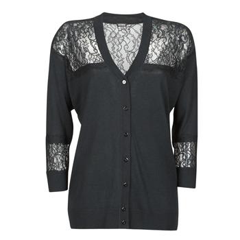 textil Dame Veste / Cardigans Guess IRENE CARDI SWTR Sort
