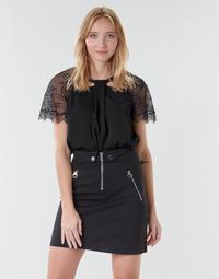 textil Dame Toppe / Bluser Guess GERDA Sort