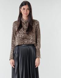 textil Dame Toppe / Bluser Guess VIVIAN Leopard