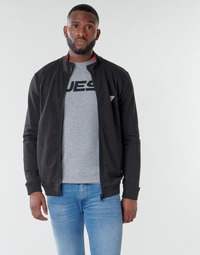 textil Herre Sweatshirts Guess AL TRUCK FLEECE Sort