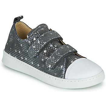 Sko Pige Lave sneakers Citrouille et Compagnie NADIR Grå / Sølv