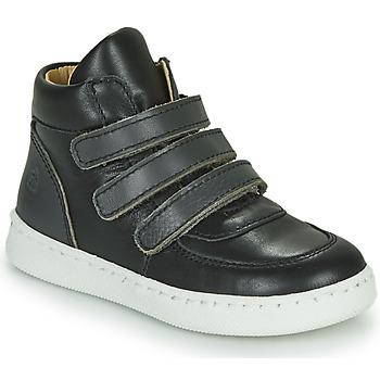 Sko Dreng Høje sneakers Citrouille et Compagnie NOSTI Sort / Grå