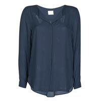 textil Dame Toppe / Bluser Vila VILUCY Marineblå