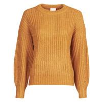 textil Dame Pullovere Vila VISUBA Orange
