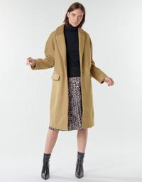 textil Dame Frakker Vila VICALLEE Kamel