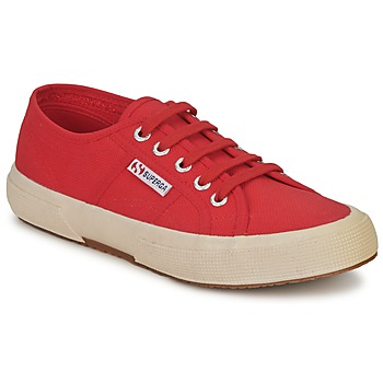 Sko Lave sneakers Superga 2750 CLASSIC Brun / Rød