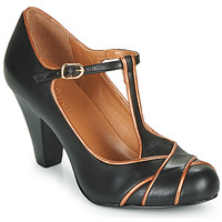 Sko Dame Højhælede sko Cristofoli MESTIS Sort / Bronze