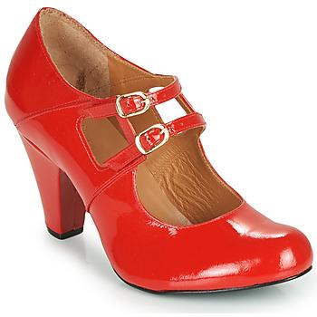 Sko Dame Højhælede sko Cristofoli MASTIS Rød / Lakeret