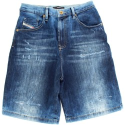 textil Dreng Shorts Diesel Kid 00J4QW KXB37 Blue Denim
