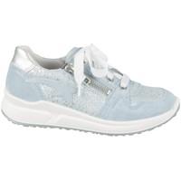 Sko Børn Lave sneakers Superfit 06061858500 Sølv, Azurblå