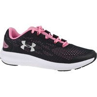 Sko Pige Løbesko Under Armour GS Charged Pursuit 2 Sort,Pink