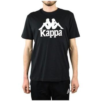 textil Herre T-shirts m. korte ærmer Kappa Caspar Tshirt Sort