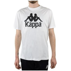 textil Herre T-shirts m. korte ærmer Kappa Caspar Tshirt Hvid
