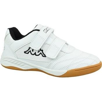 Sko Børn Lave sneakers Kappa Kickoff K Hvid