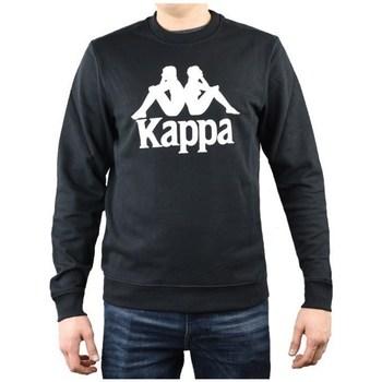 textil Herre Sweatshirts Kappa Sertum RN Sweatshirt Sort