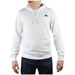 textil Herre Sweatshirts Kappa Vend Hooded Hvid