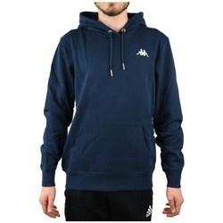 textil Herre Sweatshirts Kappa Vend Hooded Flåde