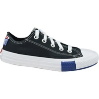 Sko Børn Lave sneakers Converse Chuck Taylor All Star JR Hvid,Sort