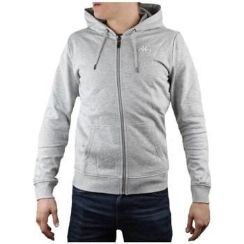 textil Herre Sweatshirts Kappa Veil Hooded Grå