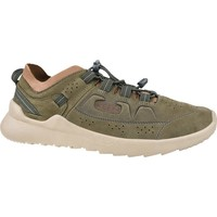 Sko Herre Lave sneakers Keen Highland Beige,Oliven