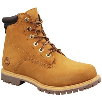 Sko Dame Høje sneakers Timberland Waterville 6 IN Basic W Honning