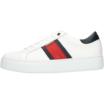 Sko Herre Lave sneakers Exton 861 White red and blue