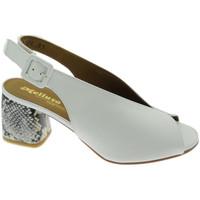 Sko Dame Sandaler Melluso MEN622PTbi bianco