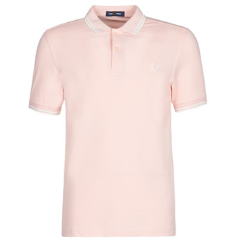 textil Herre Polo-t-shirts m. korte ærmer Fred Perry TWIN TIPPED FRED PERRY SHIRT Pink