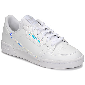 Sko Børn Lave sneakers adidas Originals CONTINENTAL 80 J Hvid