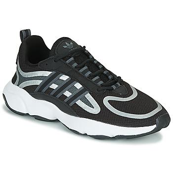 Sko Lave sneakers adidas Originals HAIWEE J Sort / Grå