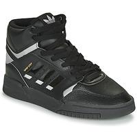 Sko Høje sneakers adidas Originals DROP STEP Sort / Sølv