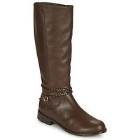Sko Dame Chikke støvler So Size AURELIO Brun