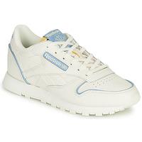 Sko Lave sneakers Reebok Classic CL LTHR Hvid