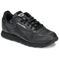 Sko Børn Lave sneakers Reebok Classic CLASSIC LEATHER Sort