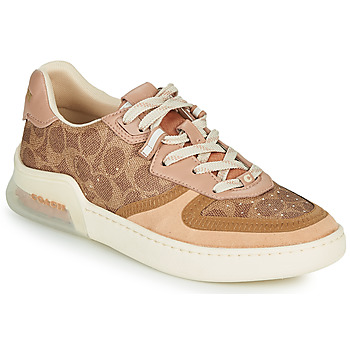 Sko Dame Lave sneakers Coach CITYSOLE Cognac / Beige