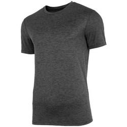 textil Herre T-shirts m. korte ærmer 4F TSMF003 Grafit