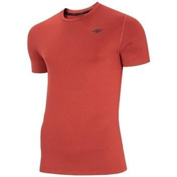 textil Herre T-shirts m. korte ærmer 4F TSMF003 Rød