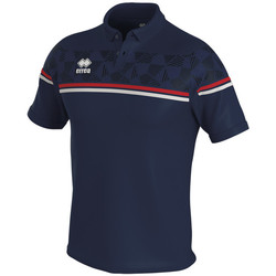 textil Polo-t-shirts m. korte ærmer Errea Polo  dominic bleu/marine/blanc