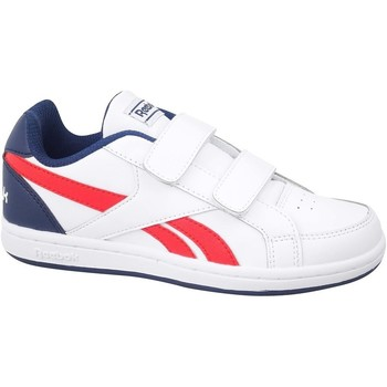 Sko Børn Lave sneakers Reebok Sport Royal Prime Hvid, Rød, Flåde