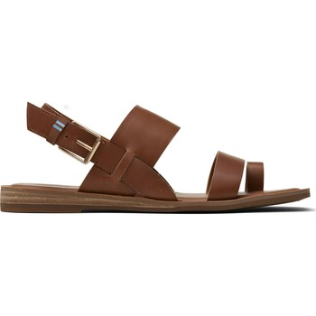 Sko Dame Sandaler Toms Veg Leather Women's Freya Tan