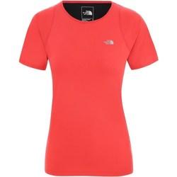 textil Dame T-shirts m. korte ærmer The North Face Ambition Rød