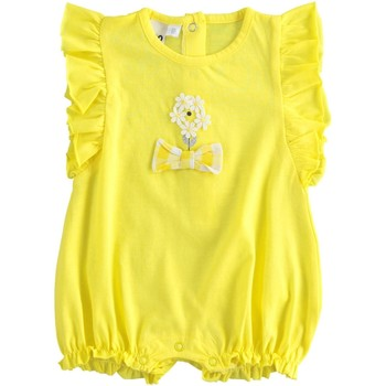 textil Pige Buksedragter / Overalls Ido 4J648 Giallo