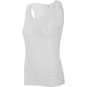 textil Dame Toppe / T-shirts uden ærmer 4F TSD003 Grå