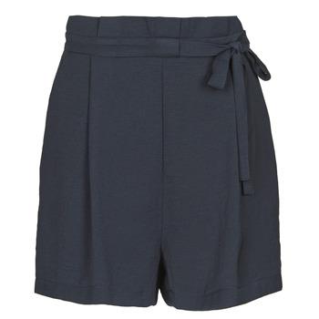 textil Dame Shorts Only ONLAMANDA Marineblå