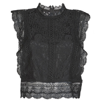 textil Dame Toppe / Bluser Only ONLKARO Sort