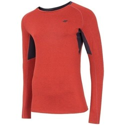 textil Herre Langærmede T-shirts 4F TSMLF002 Orange