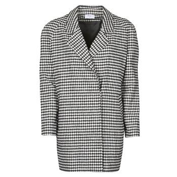 textil Dame Frakker Betty London NIVER Sort / Hvid
